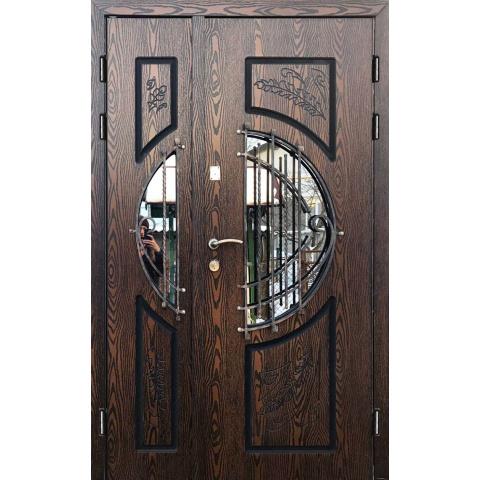 Двері вхідні з полімерними накладками №05001
