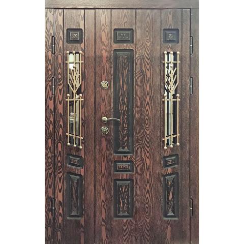 Двері вхідні з полімерними накладками №05004
