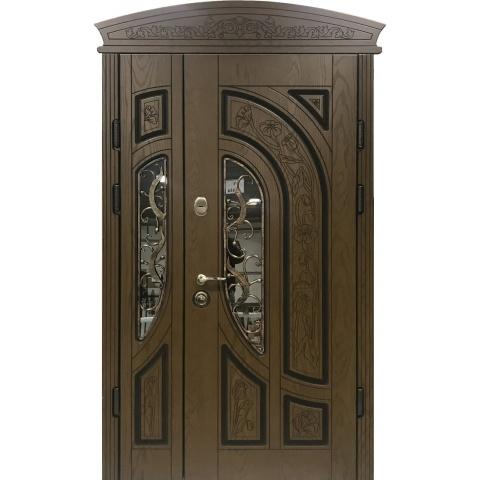 Двері вхідні з поліменими накладками №05041