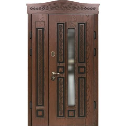 Двері вхідні з полімерними накладками №05043